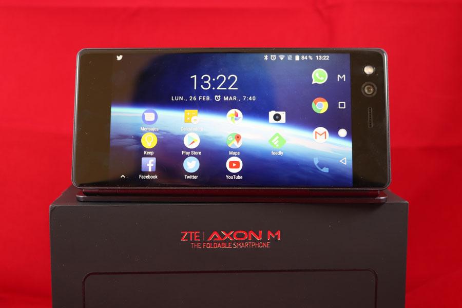 5 cosas curiosas que puedes hacer con la doble pantalla del ZTE Axon M pantalla única