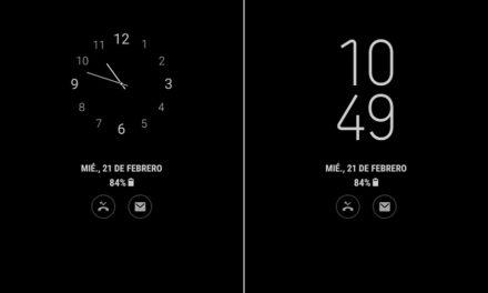 Opciones para configurar Always on Display en un móvil Samsung