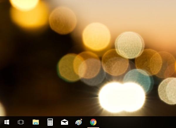 Cómo personalizar y cambiar de sitio la barra de tareas en Windows 10