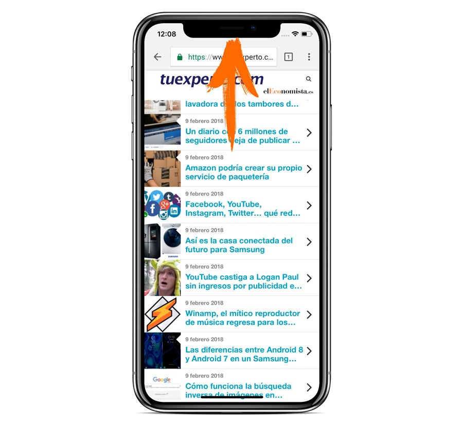 5 trucos para iPhone X subir