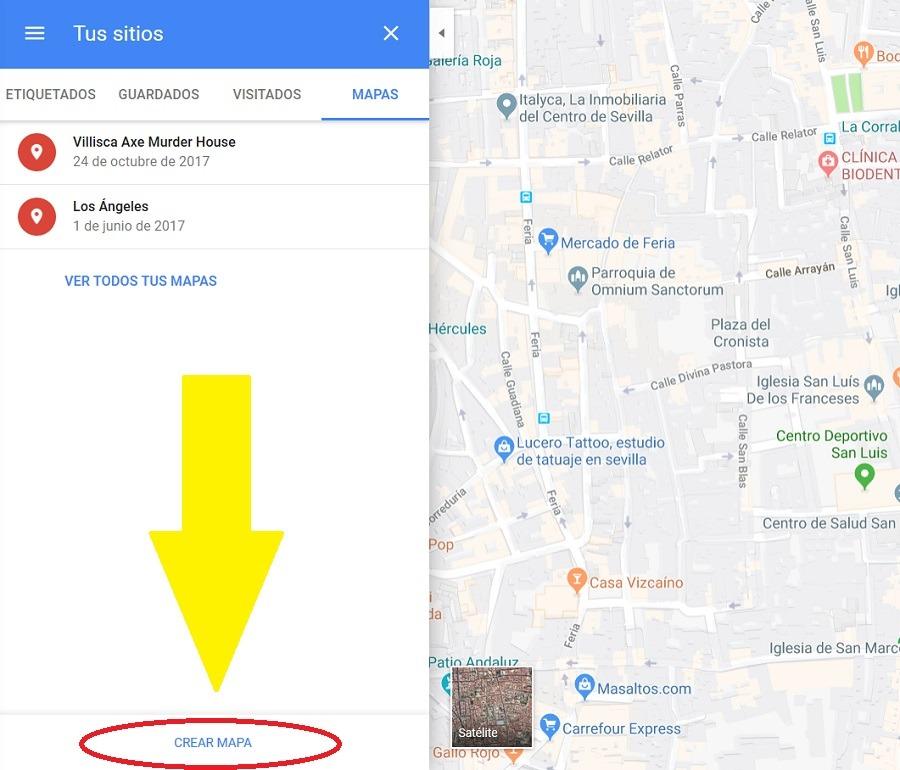 como crear un mapa en google maps 2