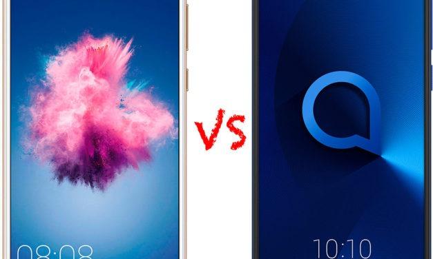 Comparativa Huawei P Smart vs Alcatel 3
