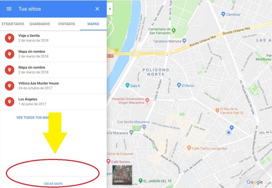 crear mapa google maps