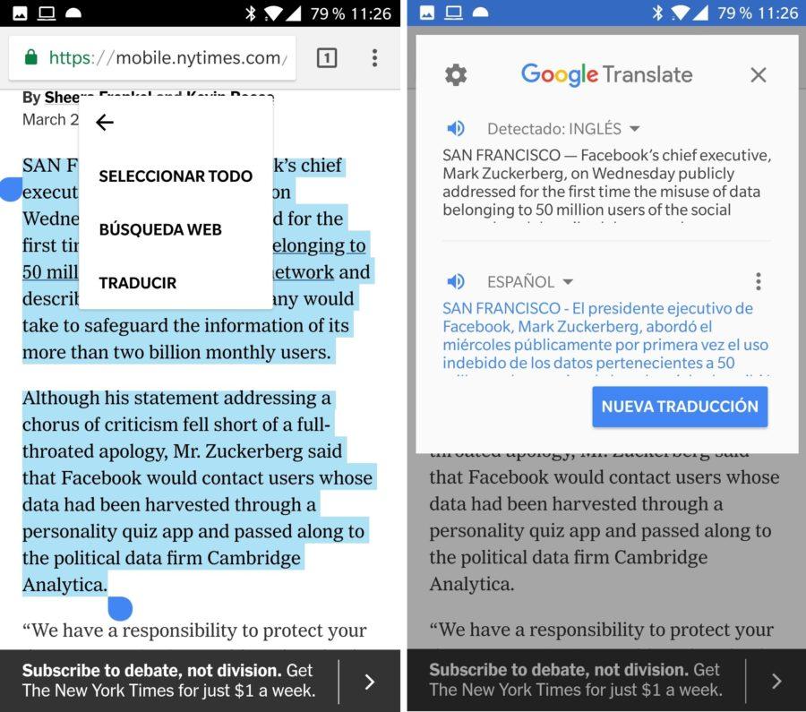 traduccion instantanea