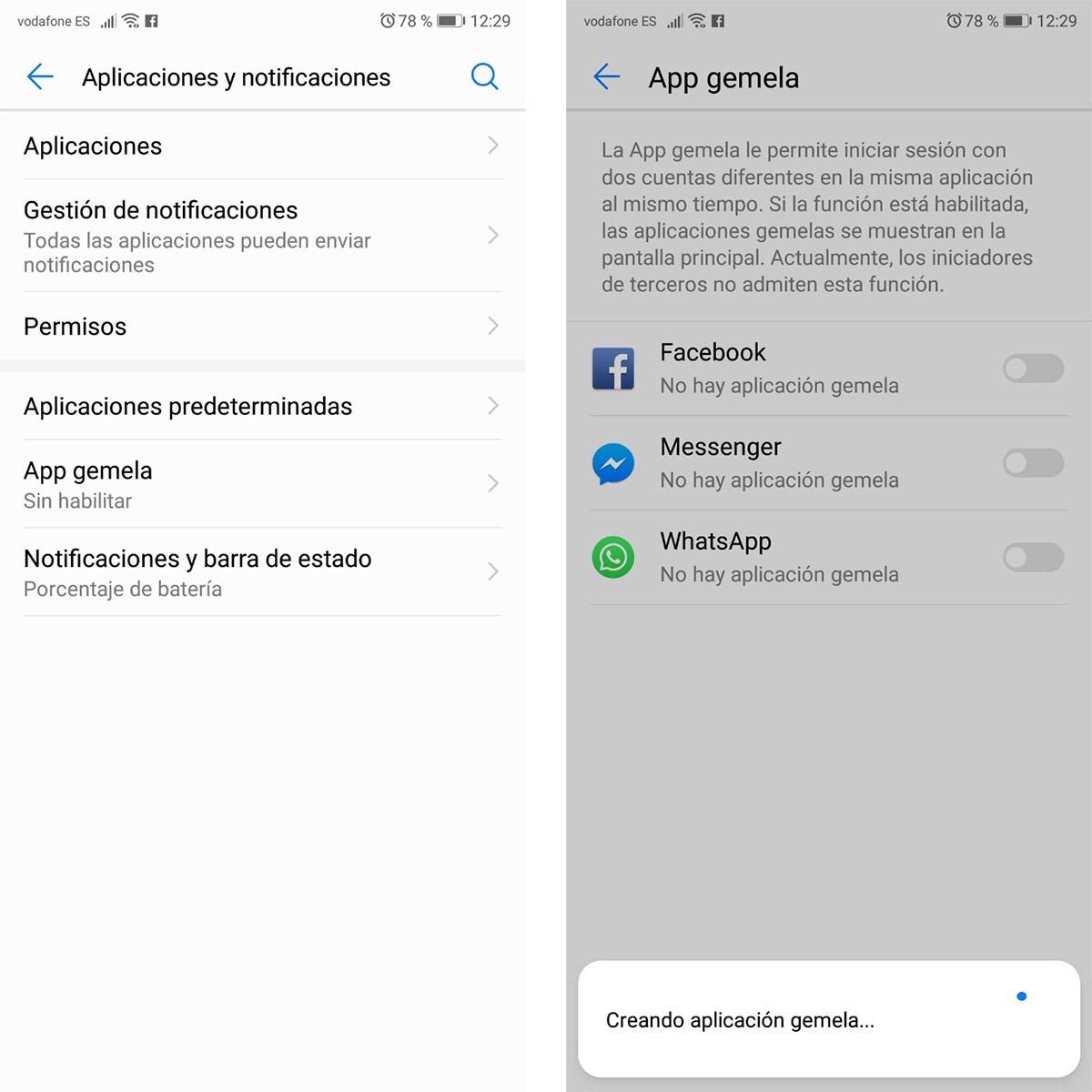 activa dos cuentas de whatsapp