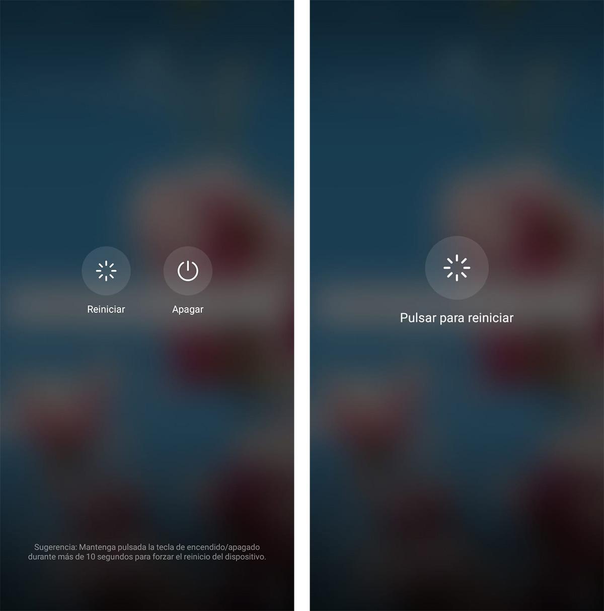 Huawei reset