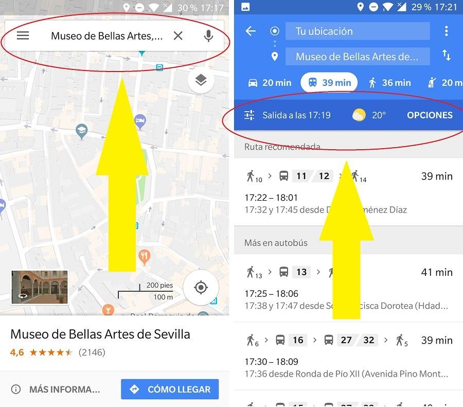 maps transporte publico