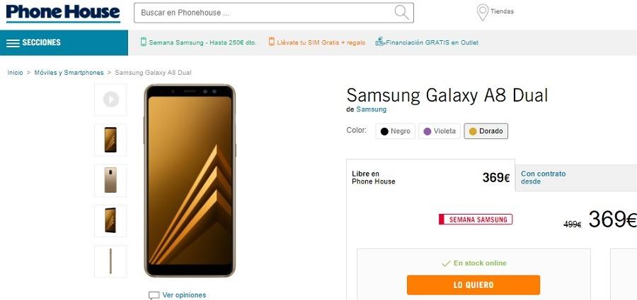 Samsung Galaxy A8 2017 Dual
