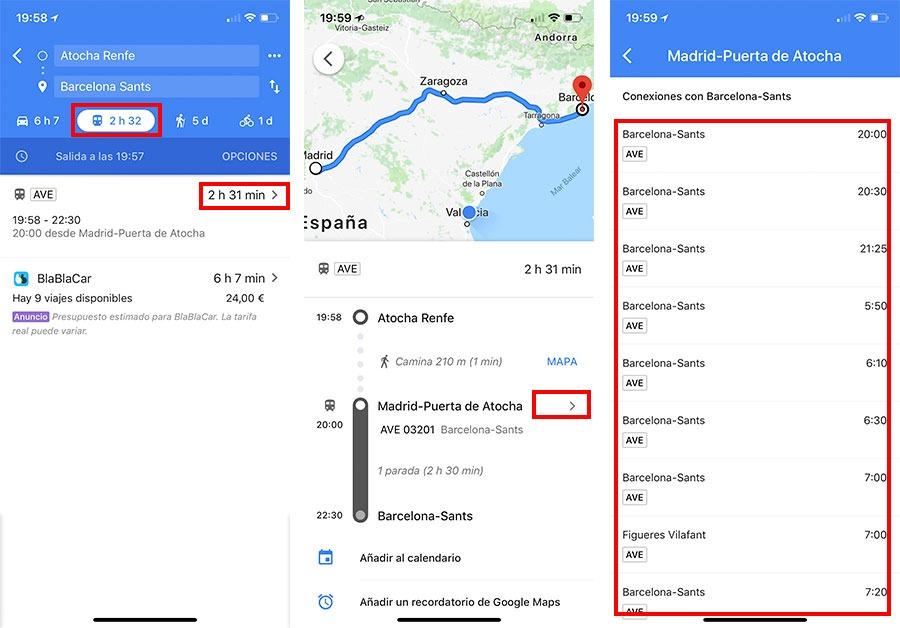5 trucos sencillos a la hora de usar Google Maps horarios