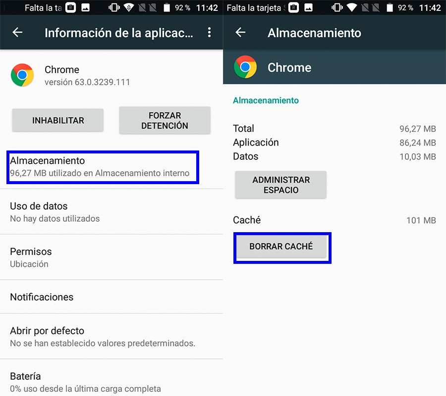 Cómo saber qué aplicaciones consumen más batería en tu móvil Android caché