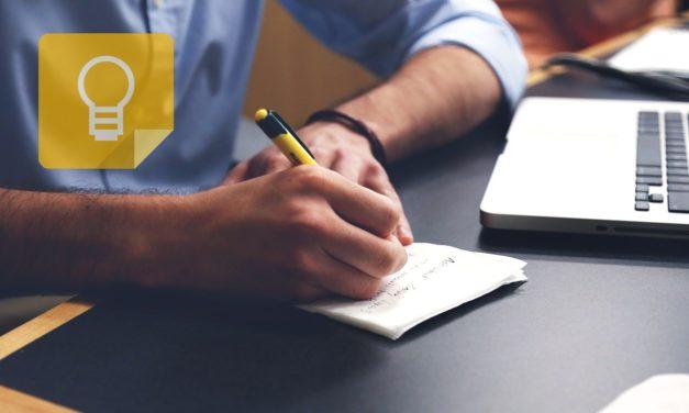 5 trucos para tomar notas con Google Keep