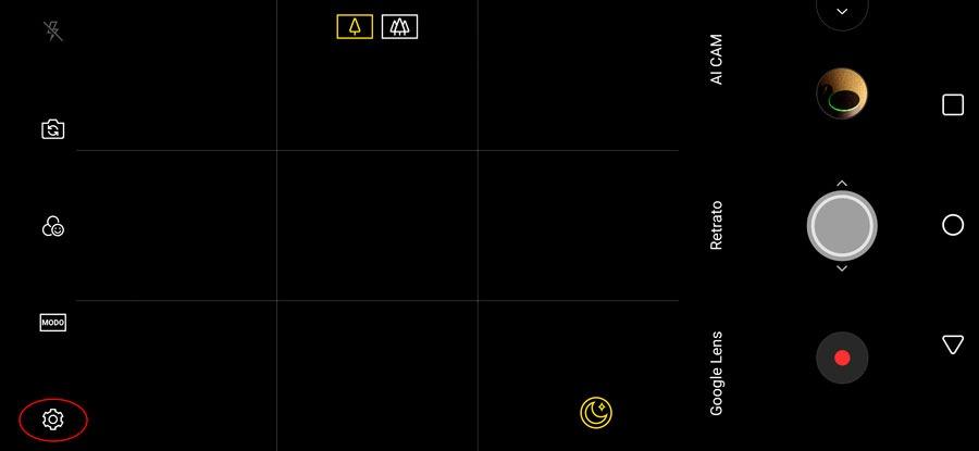 5 trucos para sacar el máximo partido a la cámara del LG G7 ajustes