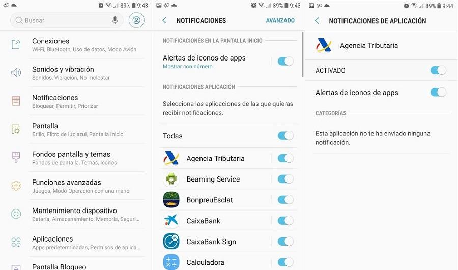aplicaciones notificaciones
