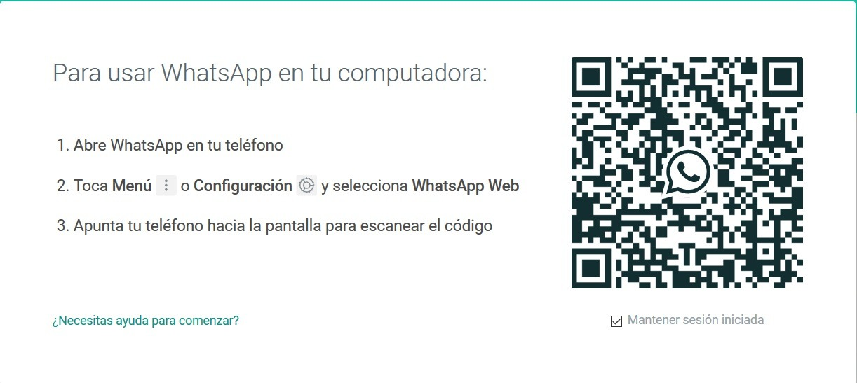whatsapp web pc