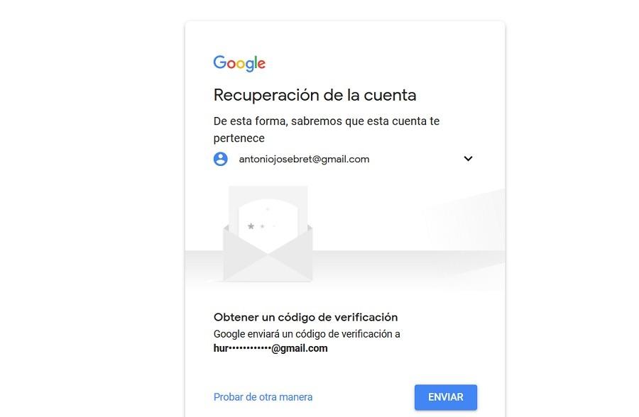 codigo verificacion cuenta google