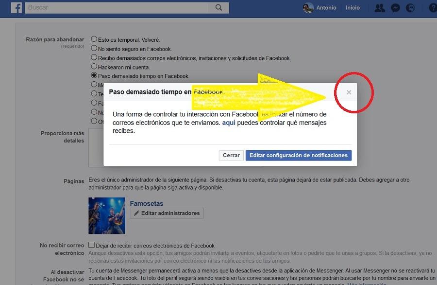 desactivar facebook 04