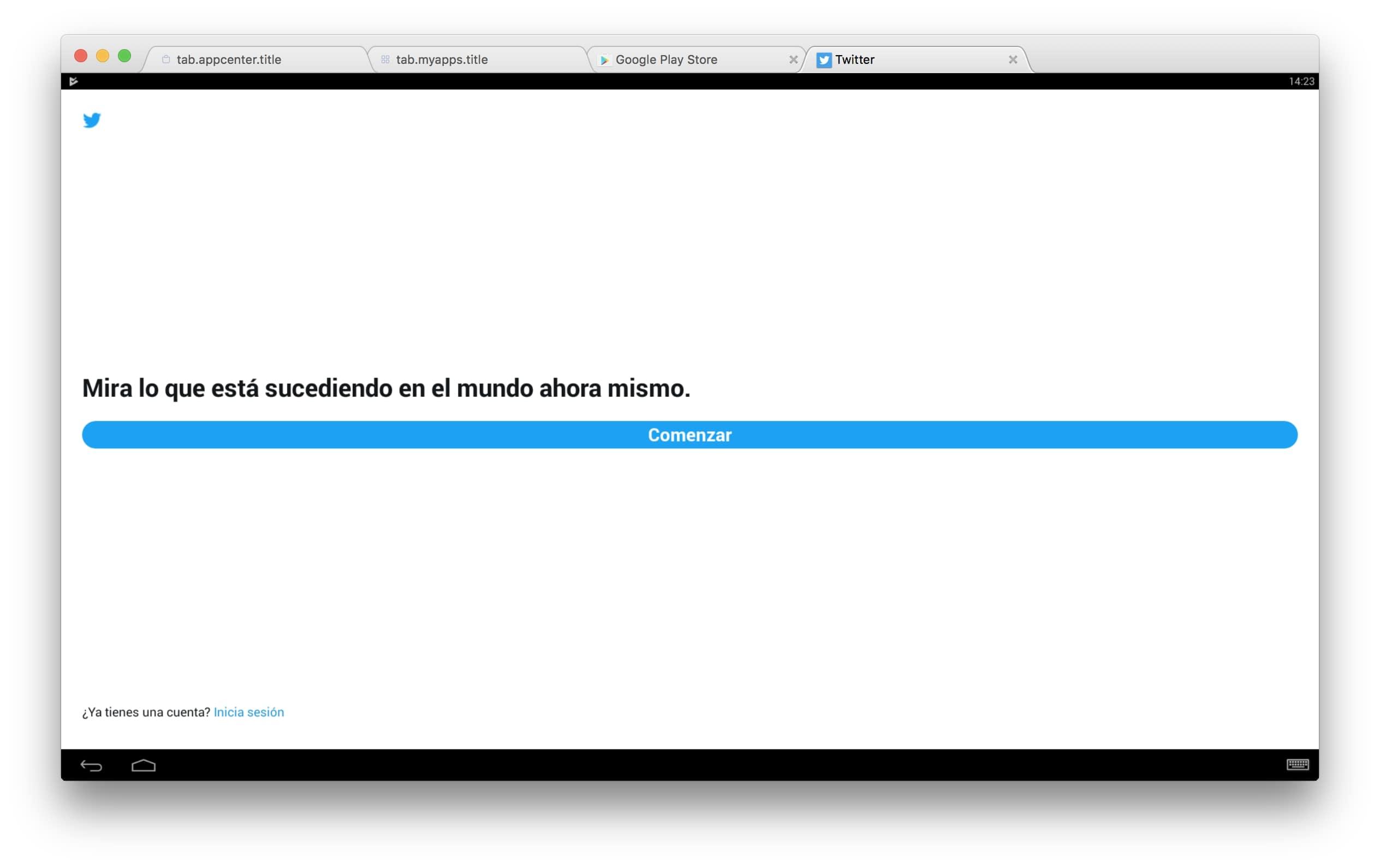 bluestacks para mac 2