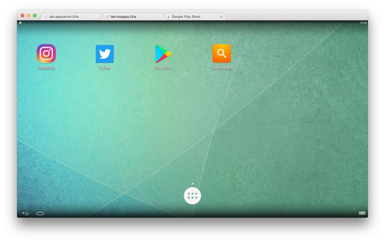 bluestacks para mac 3