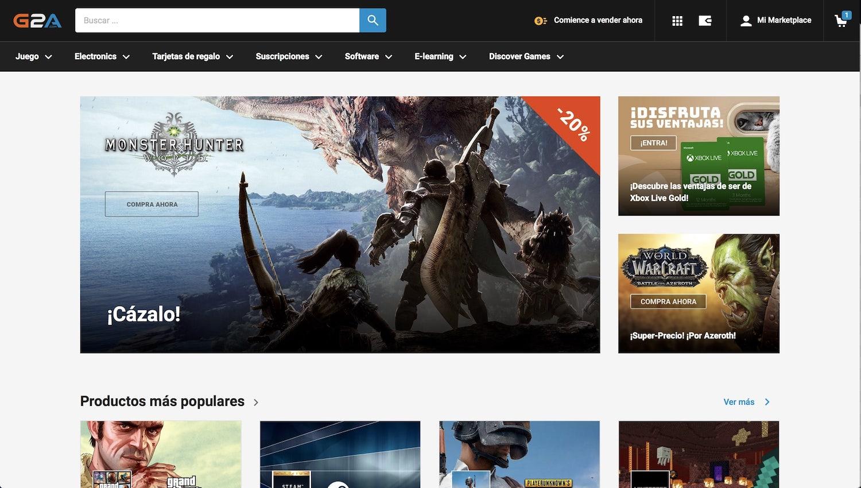Comprar juegos de PC baratos: las 6 mejores webs 1
