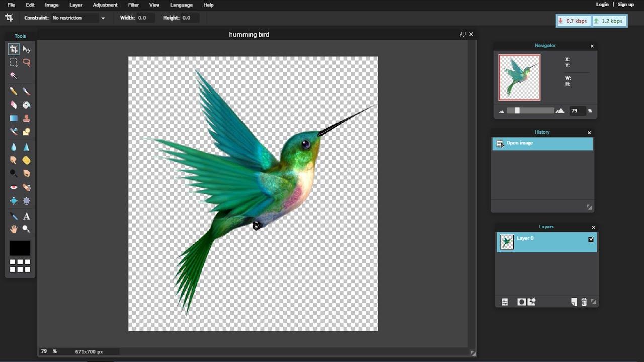 En el caso de que las herramientas anteriores no nos hayan convencido podemos recurrir a un editar avanzado online similar a photoshop pixlr es de todas