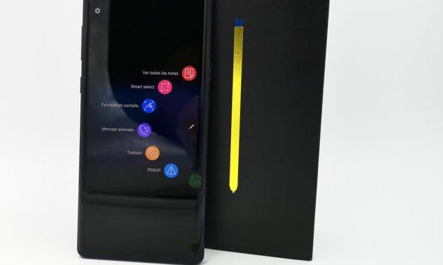 Cómo activar la pantalla horizontal de inicio en el Samsung Galaxy Note 9