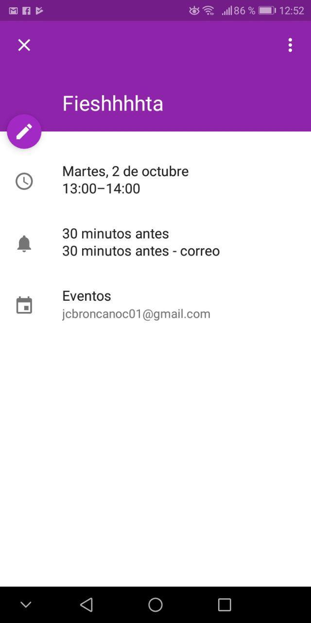 eventos colores google
