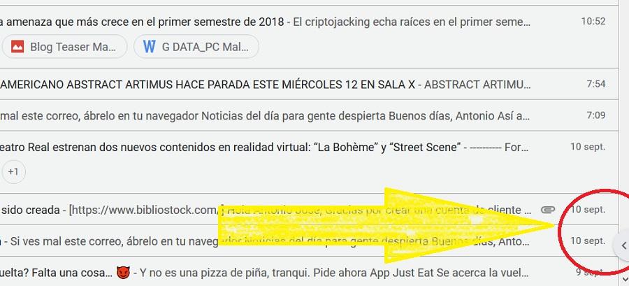 ocultar barra lateral gmail 02