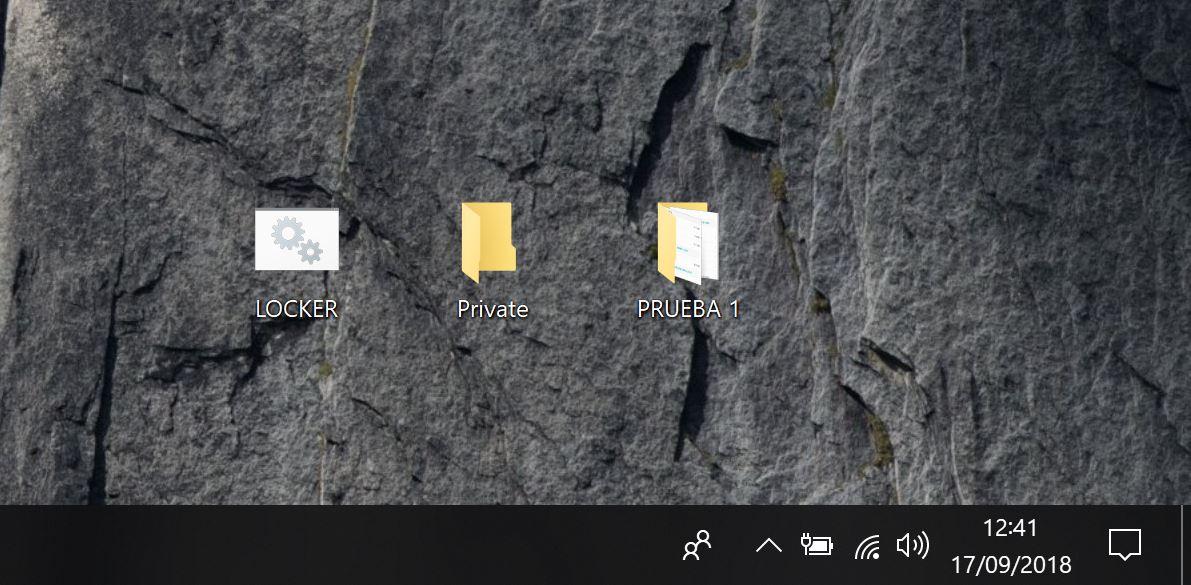 ocultar carpeta windows 2