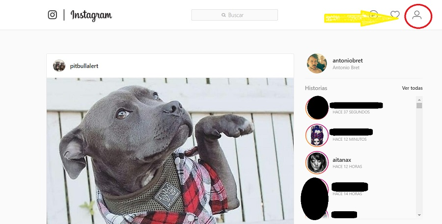 inhabilitar temporalmente cuenta instagram