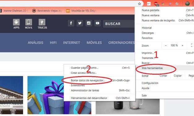 Cómo borrar la memoria caché de Chrome, Firefox y Microsoft Edge