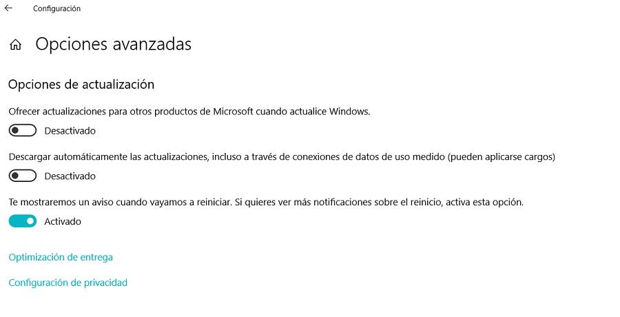 Cómo programar las actualizaciones de sistema de Windows 10 1