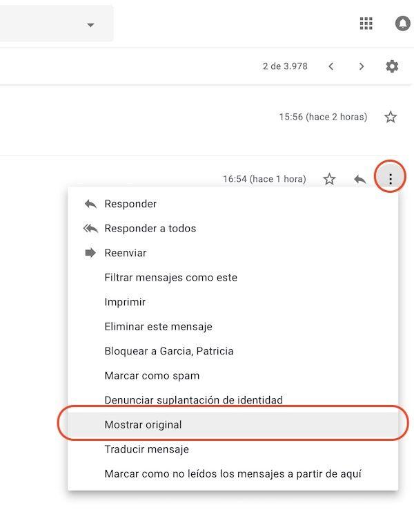 ver ip correo gmail