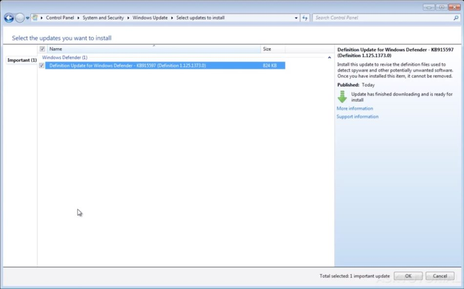 actualizar windows 7 update 5