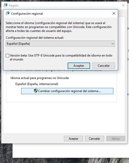 cambiar idioma windows 10 5