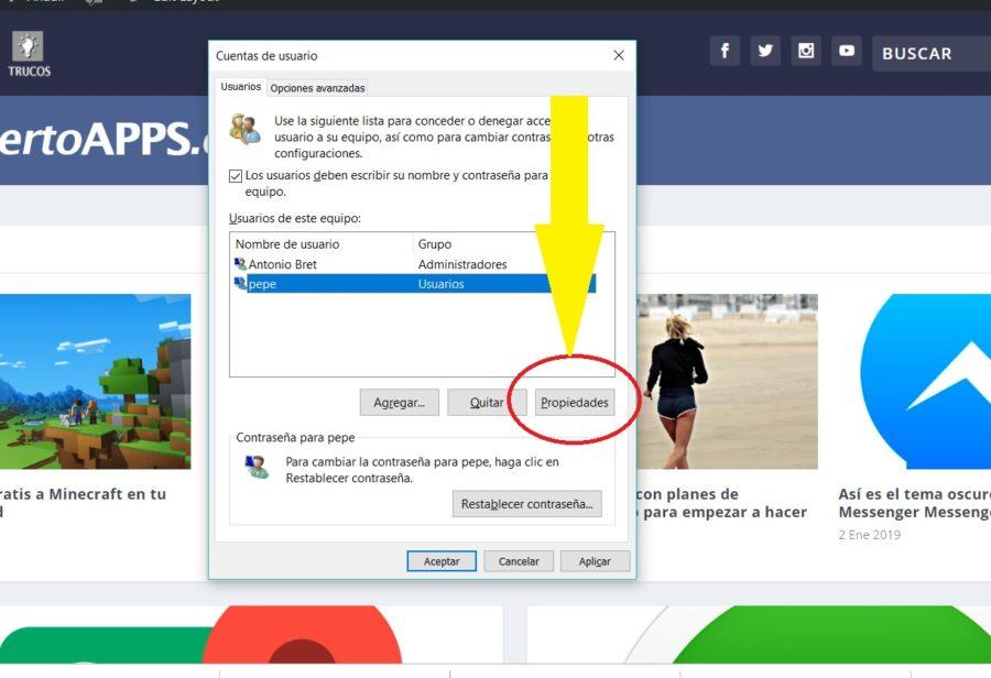 cuenta usuario windows 10 07
