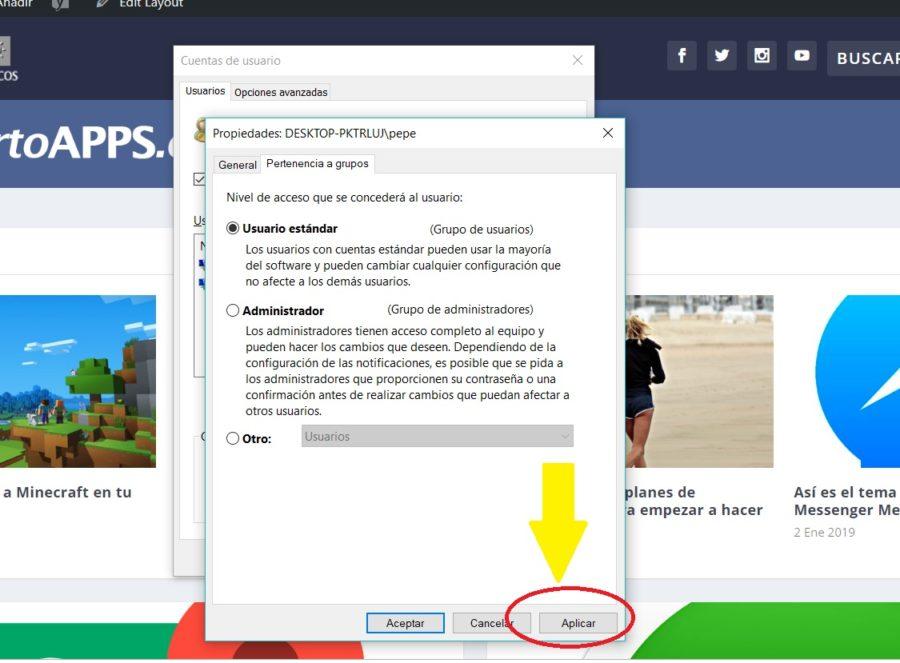 cuenta usuario windows 10 08