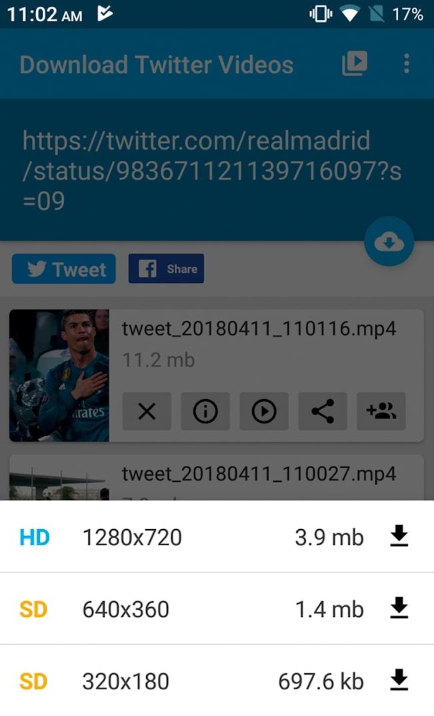 downloader for twitter 2