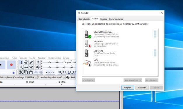 Cómo grabar el audio interno del PC en Windows 10