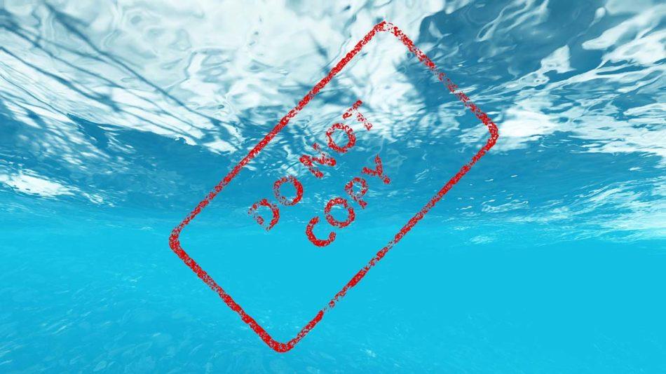 marca de agua