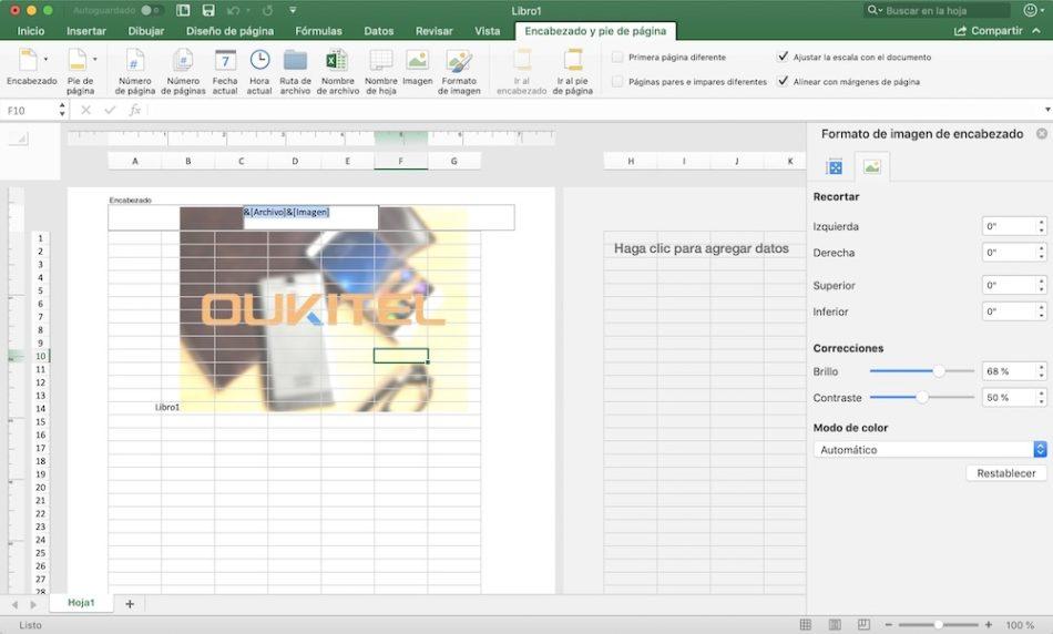Cómo añadir marca de agua en Word, Excel y PowerPoint