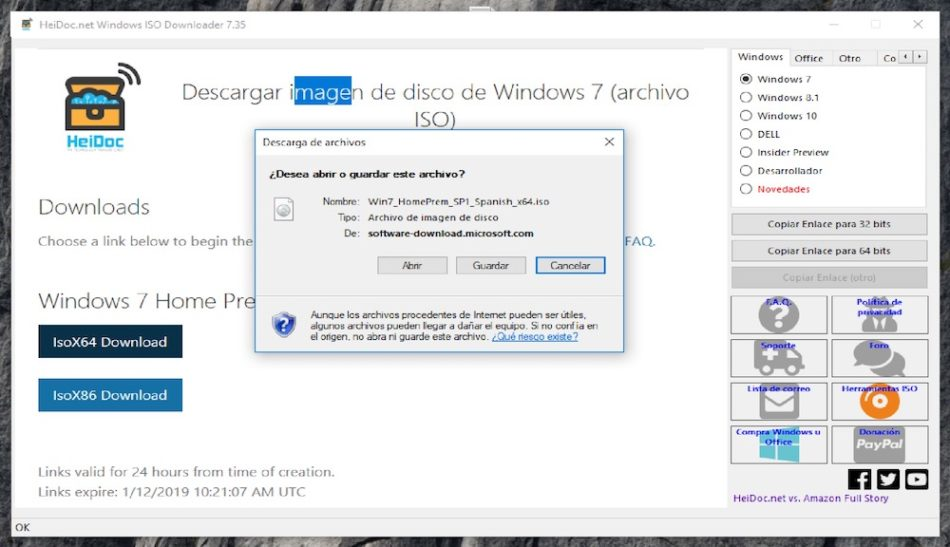 Microsoft Windows and Office ISO Download Tool 2