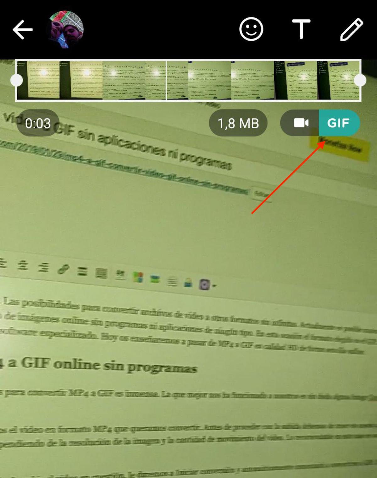 mp4 a gif whatsapp 2