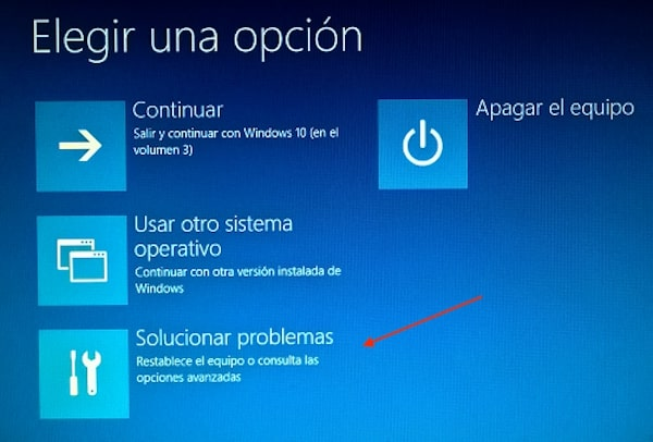 restablecer windows 10 sin perder datos 2