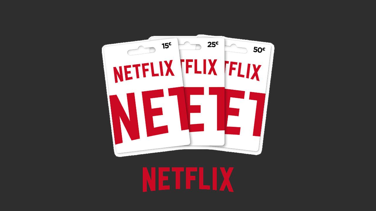 donde compro una tarjeta de regalo netflix