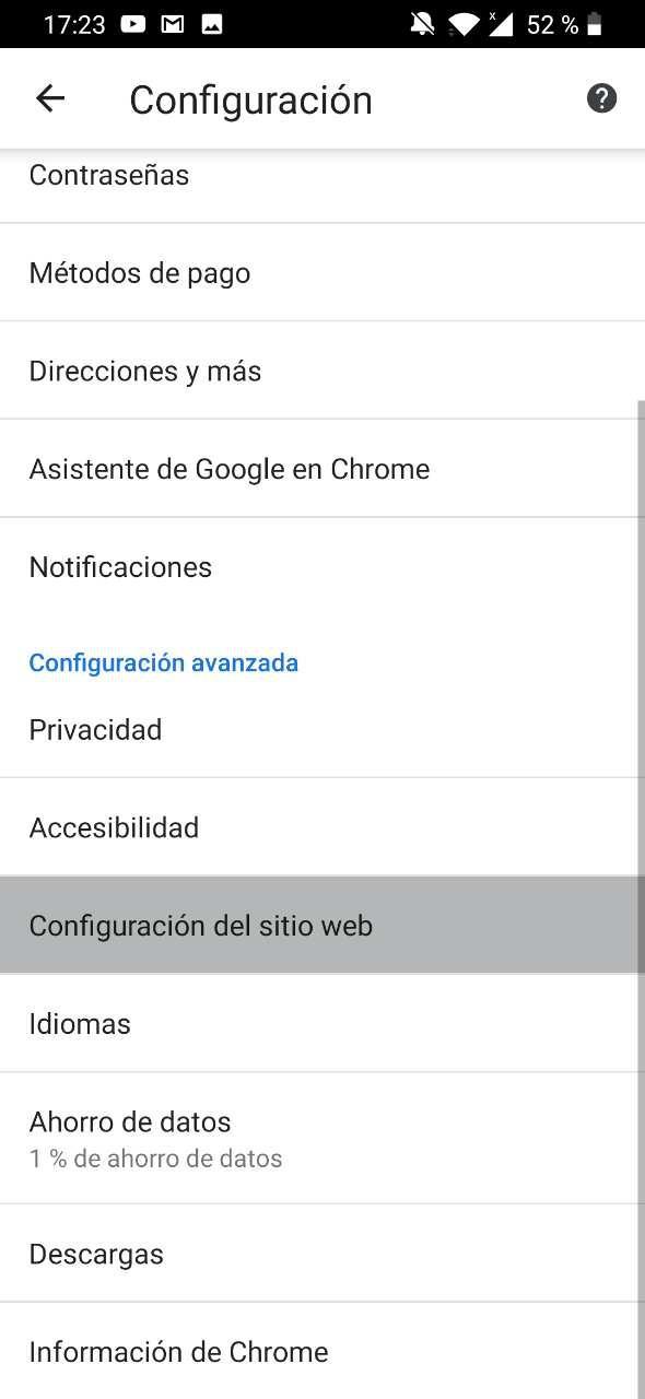 bloquear anuncios chrome android 2