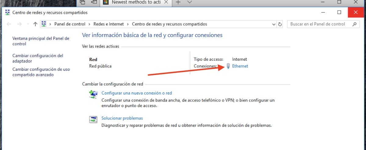 cambiar ip en windows 10