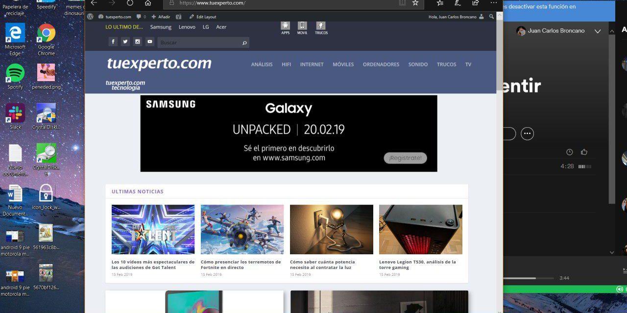 5 formas de hacer pantallazos y capturas de pantalla en Windows 10