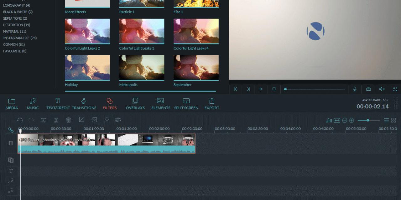 5 alternativas a Filmora gratis para editar videos