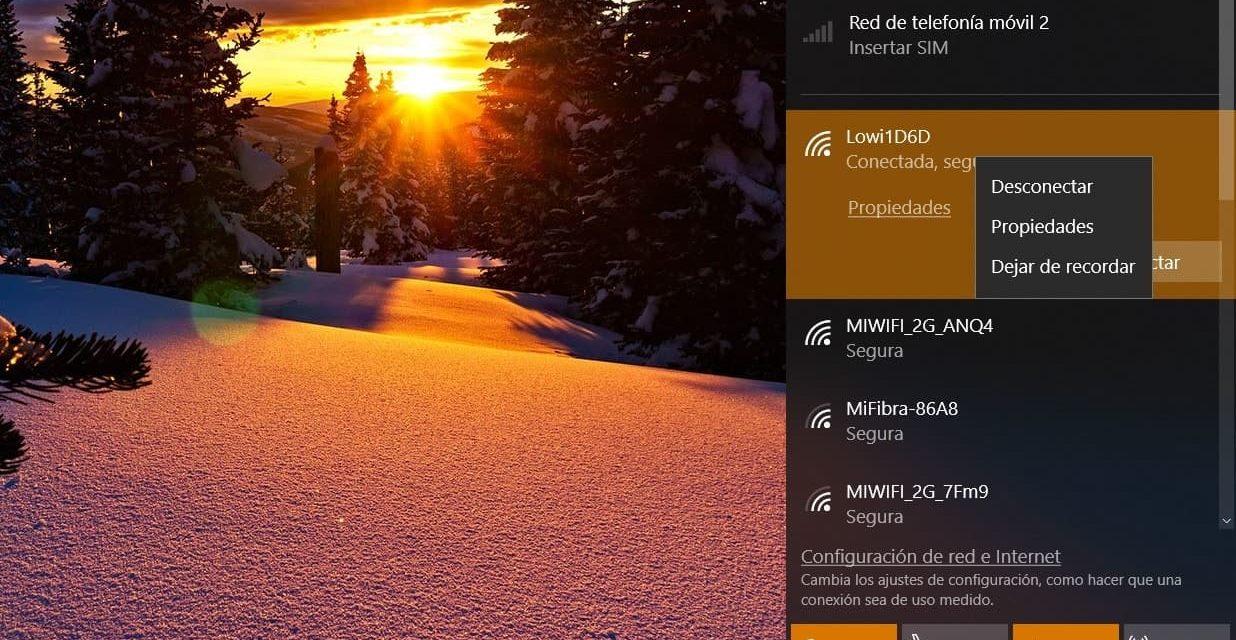 Cómo compartir WiFi desde el PC con Windows 7, 8 y 10