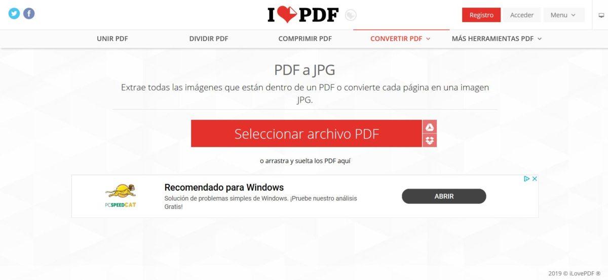 convertir documento pdf a jpg online